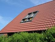 Velux Doppelfenster mit Außenrolladen