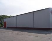 Fundament u. Sockel für Gewerbehalle